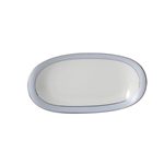 Bernardaud Dune Blue Relish Dish