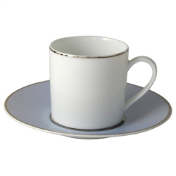 Bernardaud Dune Blue After Dinner Saucer Only