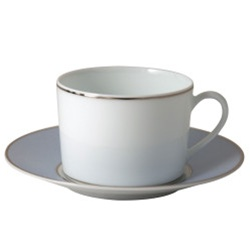 Bernardaud Dune Blue Tea Saucer Only