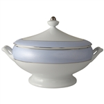 Bernardaud Dune Blue Soup Tureen