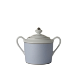 Bernardaud Dune Blue Sugar Bowl