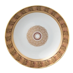 Bernardaud Incrustation Privilege Coupe Soup Plate