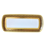 Bernardaud Incrustation Privilege Cake Platter Rectangular