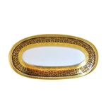 Bernardaud Incrustation Privilege Relish Dish