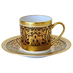 Bernardaud Incrustation Privilege After Dinner Saucer Only