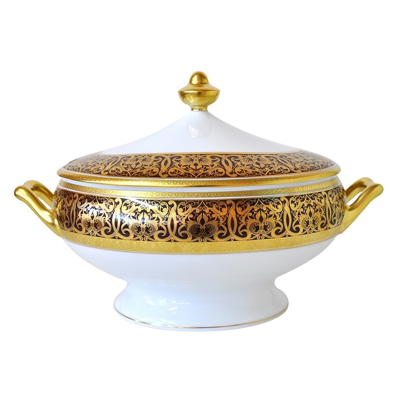 Bernardaud Incrustation Privilege Soup Tureen