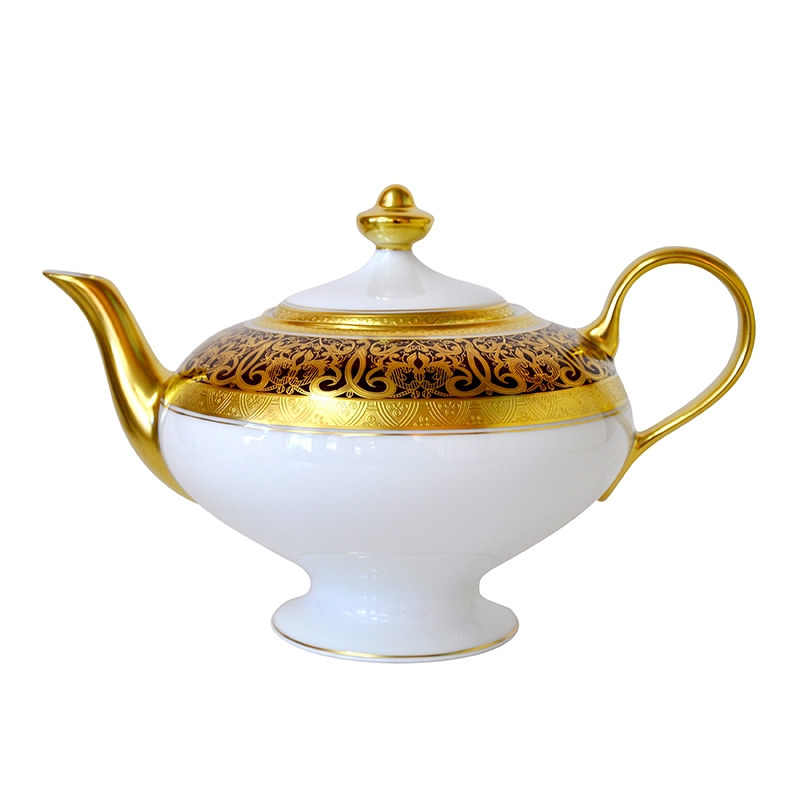 Bernardaud Incrustation Privilege Teapot