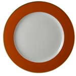 Bernardaud Opaline Service Plate Orange