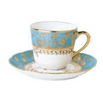 Bernardaud Eden Turquoise After Dinner Saucer Only