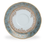 Bernardaud Eden Turquoise Coffee Saucer Only