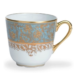 Bernardaud Eden Turquoise Coffee Cup Only