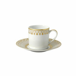Bernardaud Soleil Levant After Dinner Saucer Only