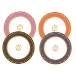 Bernardaud Soleil Levant Salad Plates Set Of 4
