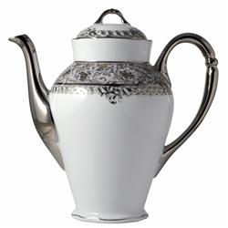 Bernardaud Eden Platinum Coffee Pot