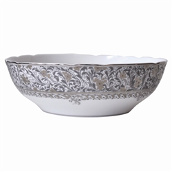 Bernardaud Eden Platinum Open Vegetable Bowl