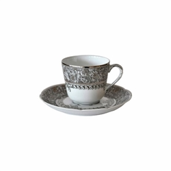 Bernardaud Eden Platinum After Dinner Saucer Only
