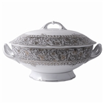 Bernardaud Eden Platinum Soup Tureen