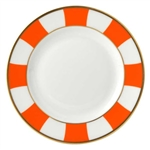 Bernardaud Galerie Royale Orange Bread & Butter Plate - 6.3""