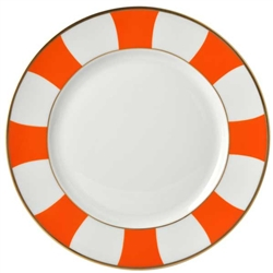 Bernardaud Galerie Royale Orange Dinner Plate