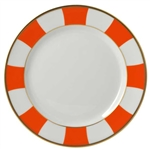 Bernardaud Galerie Royale Orange Salad Plate