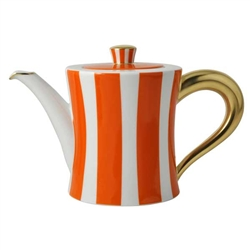 Bernardaud Galerie Royale Orange Coffee Pot