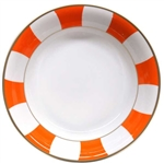 Bernardaud Galerie Royale Orange Open Vegetable Bowl
