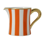 Bernardaud Galerie Royale Orange Creamer