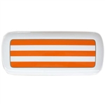 Bernardaud Galerie Royale Orange Cake Platter Rectangular
