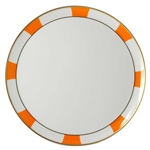 Bernardaud Galerie Royale Orange Tart Platter - Round