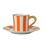 Bernardaud Galerie Royale Orange After Dinner Cup Only