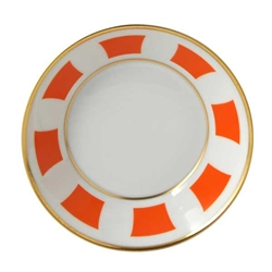 Bernardaud Galerie Royale Orange Candy Dish