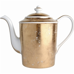 Bernardaud Gold Leaf Hot Beverage Server 12 Cup