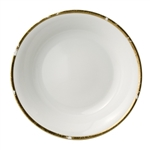 Bernardaud Gold Leaf Open Vegetable Bowl 9.5""