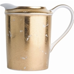 Bernardaud Gold Leaf Creamer
