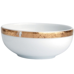 Bernardaud Gold Leaf Condiment Dish
