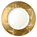Bernardaud Gold Leaf Service Plate Large 12.5""