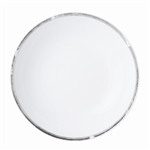 Bernardaud Silver Leaf Coupe Soup Plate