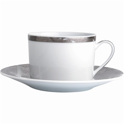 Bernardaud Silver Leaf Tea Cup 5 oz.