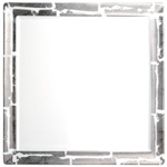 Bernardaud Silver Leaf 5 Piece Place Setting Square