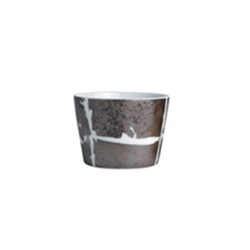 Bernardaud Silver Leaf Tumbler Medium 4.5oz.