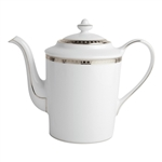 Bernardaud Athena Platinum Coffee Pot