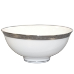 Bernardaud Athena Platinum Rice Bowl 4.7""