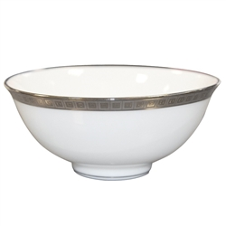 Bernardaud Athena Platinum Soup Bowl 4.3""