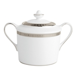 Bernardaud Athena Platinum Sugar Bowl