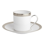 Bernardaud Athena Platinum After Dinner Cup