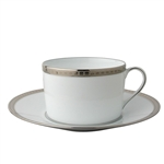 Bernardaud Athena Platinum Breakfast Cup