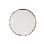 Bernardaud Athena Platinum Coupe Bread & Butter Plate 6.3""