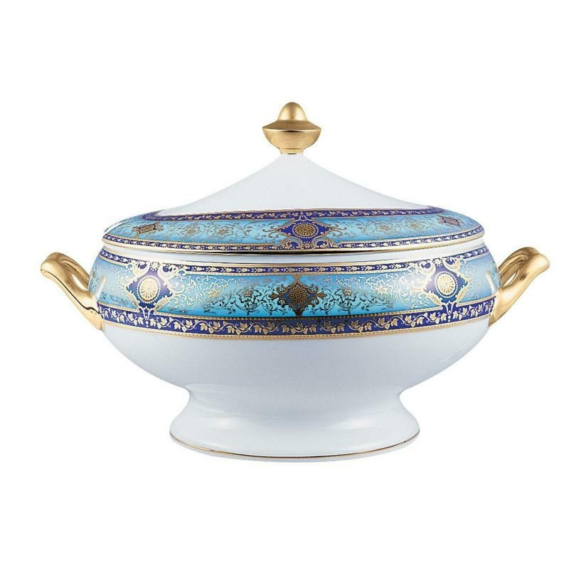 Bernardaud Grace Covered Vegetable Bowl