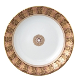 Bernardaud Eventail Rim Soup Plate