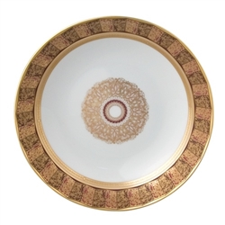 Bernardaud Eventail Coupe Soup Plate